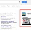 Encadré page Google Plus dans SERP