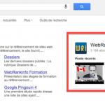 Comment relier son site et sa page Google+ avec une balise rel=publisher