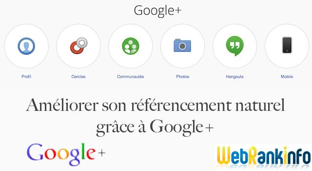 Améliorer le SEO avec Google Plus