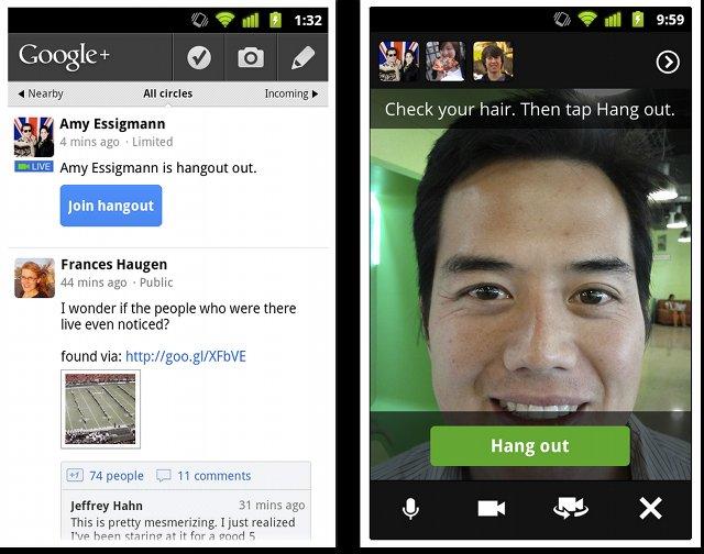 Les videos-bulles Google Plus sur téléphone portable