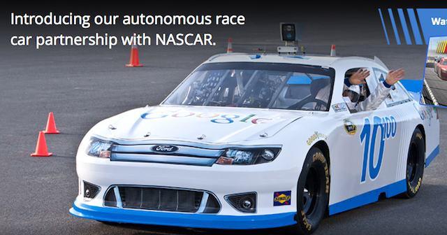 Google Racing sans les mains