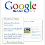 Le partage des tags dans Google Reader