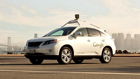 Google Self Driving Car (Lexus)