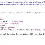 Référencement : le fichier sitemap pour Google Actualités