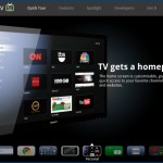 Google TV : web + télé,  disponible aux USA