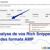 Apparence des résultats AMP dans SERP
