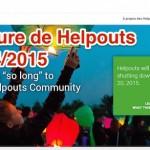 Google ferme Helpouts le 20/04/2015