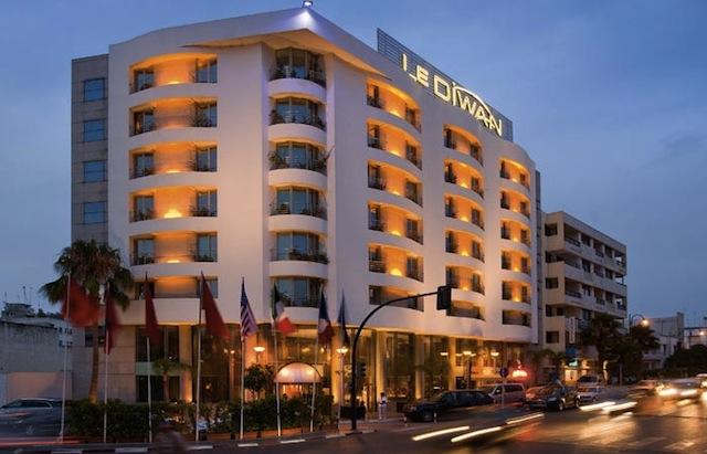 Hotel Le Diwan à Rabat (Maroc)