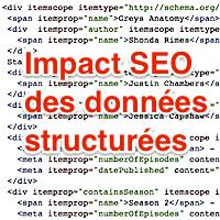Impact SEO des données structurées