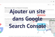 Ajouter un site dans Search Console