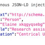 Test d'indexation Google de données structurées générées JSON-LD par Javascript