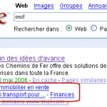 Les sitelinks de Google: comment ça marche?