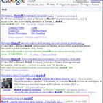 Recherche universelle : des résultats blogs sur google.fr