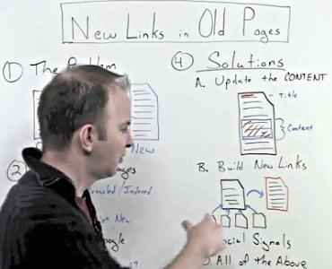 Des nouveaux backlinks dans des vieilles pages: optimisation du SEO