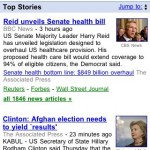 Google News sur mobile : nouvelle version