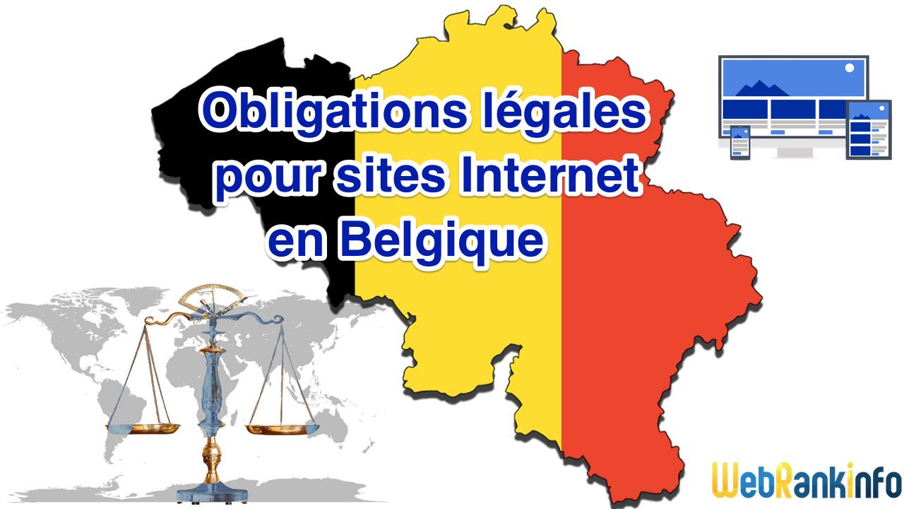 Obligations légales Belgique