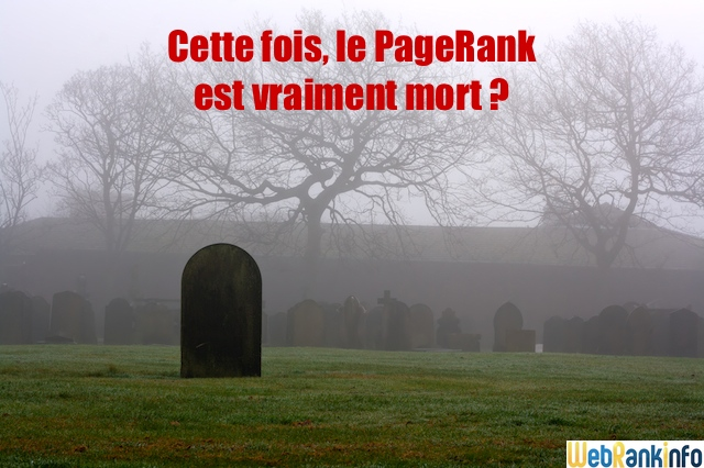 Mort du PageRank