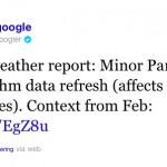 Update Google Panda du 18 nov. 2011