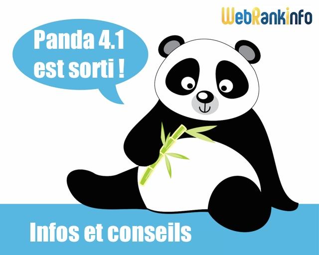 Update Google Panda 4.1