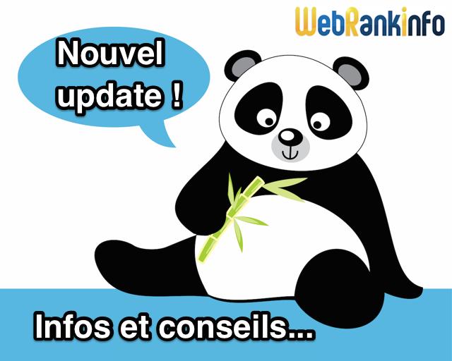 Nouvel update Panda