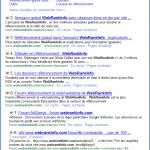 SERP Google : + de 2 résultats par site pour les requêtes navigationnelles
