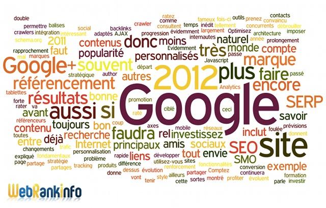 Tendances du SEO 2012: conseils d'Olivier Duffez (WebRankInfo.com)