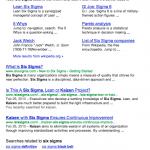 Google limite parfois à 4 résultats par page de SERP!