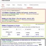 Hotel Finder : Google recule encore plus bas les résultats naturels