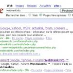 Google met à jour les SiteLinks
