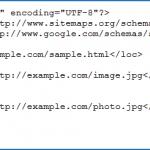 Référencement des images dans les sitemaps Google