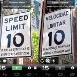 Google rachète l'appli Word Lens de traduction instantanée par caméra