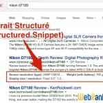 Les Extraits Structurés ou Google Structured Snippets
