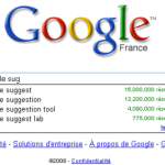Désactiver les suggestions Google (Google Suggest)