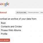 Google Takeout, pour récupérer les données de son compte Google