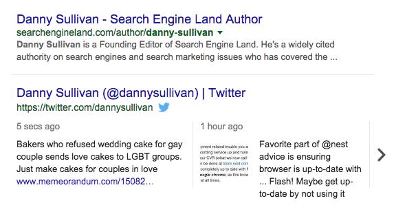 Twitter sur Google recherches ordinateur