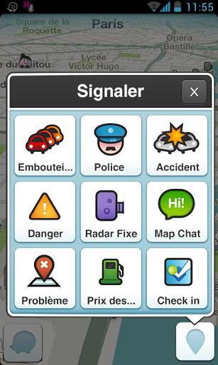 Waze (capture d'écran 5)