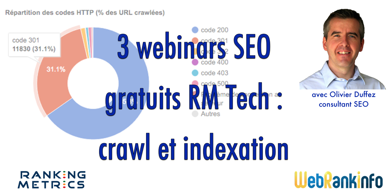 Webinar SEO : crawl et indexation