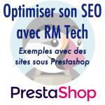 Webinar gratuit : améliorez votre SEO avec RM Tech (exemples sur sites Prestashop)