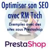 Webinar RM Tech SEO Prestashop