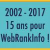 15 ans WebRankInfo