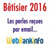 Betisier 2016 WebRankInfo