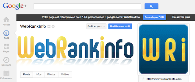 URL personnalisée préapprouvée