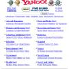 L'annuaire Yahoo en 1997
