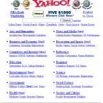 L'annuaire Yahoo!, créé en 1994, a fermé définitivement fin 2014