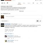 Les commentaires YouTube, basés sur Google+