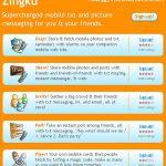 Google rachète Zingku (service de networking pour mobile)
