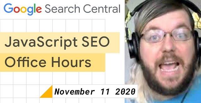 Vidéo Google novembre 2020