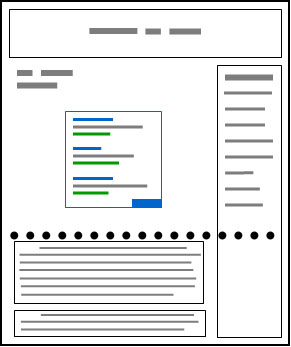 Conseils AdSense intégration pub contenu bas