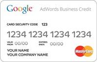 Carte Adwords Business Credit