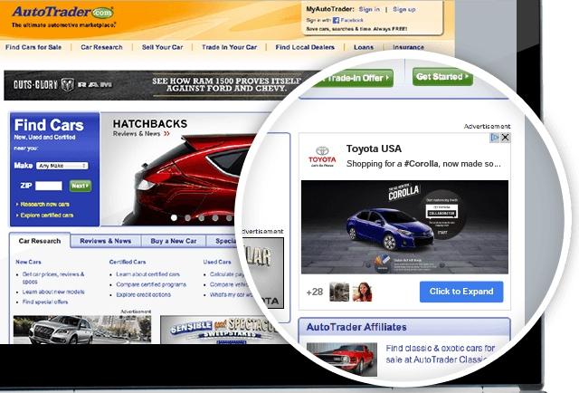 Annonce +Post page ordinateur
